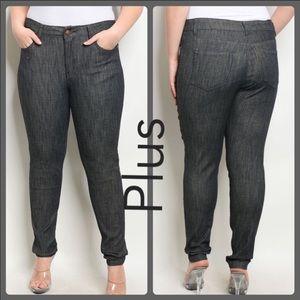 Denim - Plus Size Black Jeans!